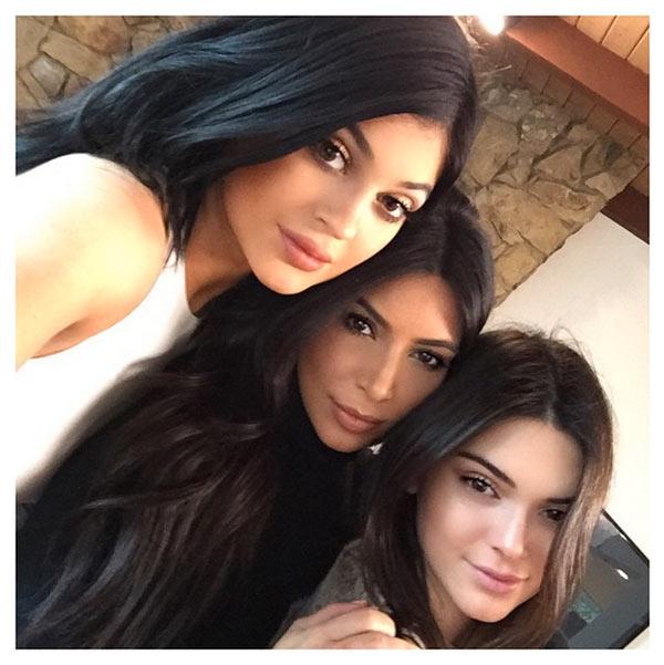 kim kardashian selfie kylie jenner