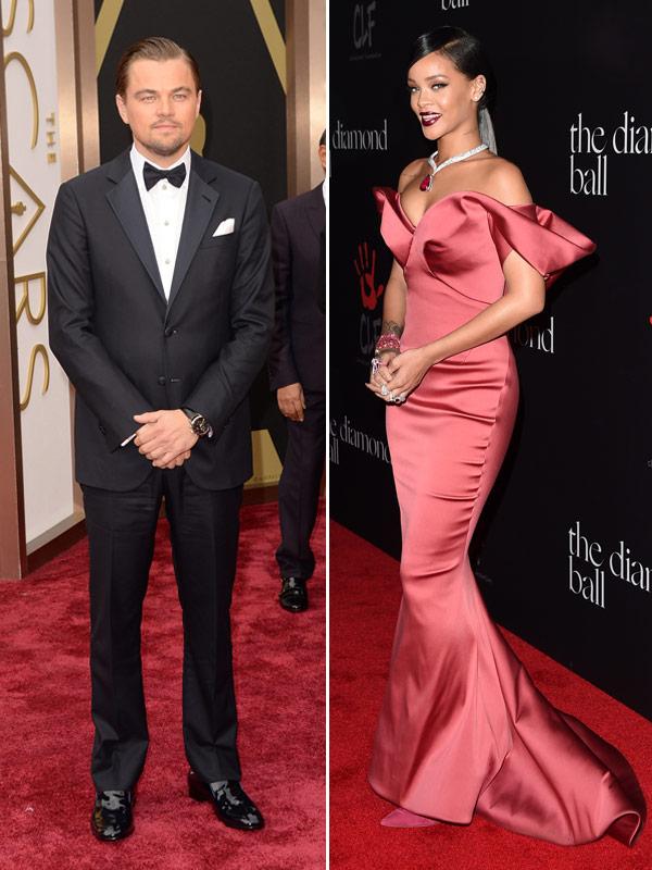 Leonardo DiCaprio Rihanna Hooking Up