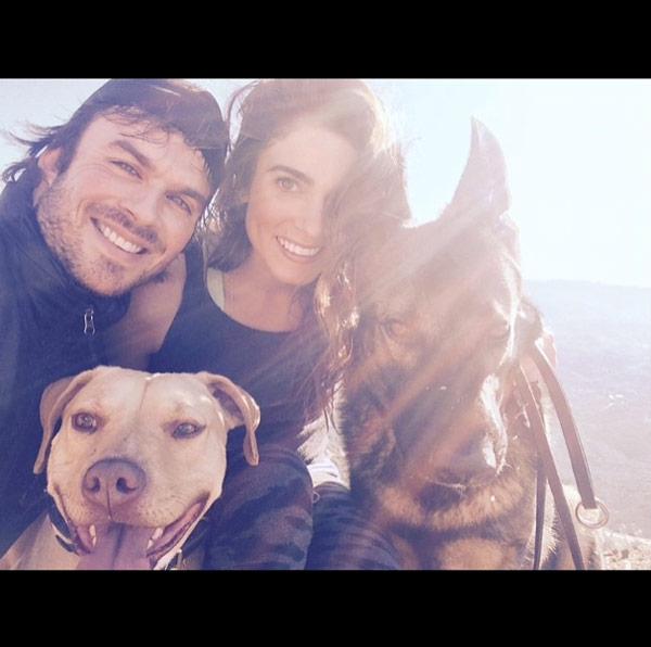 Nikki Reed Engaged Ian Somerhalder