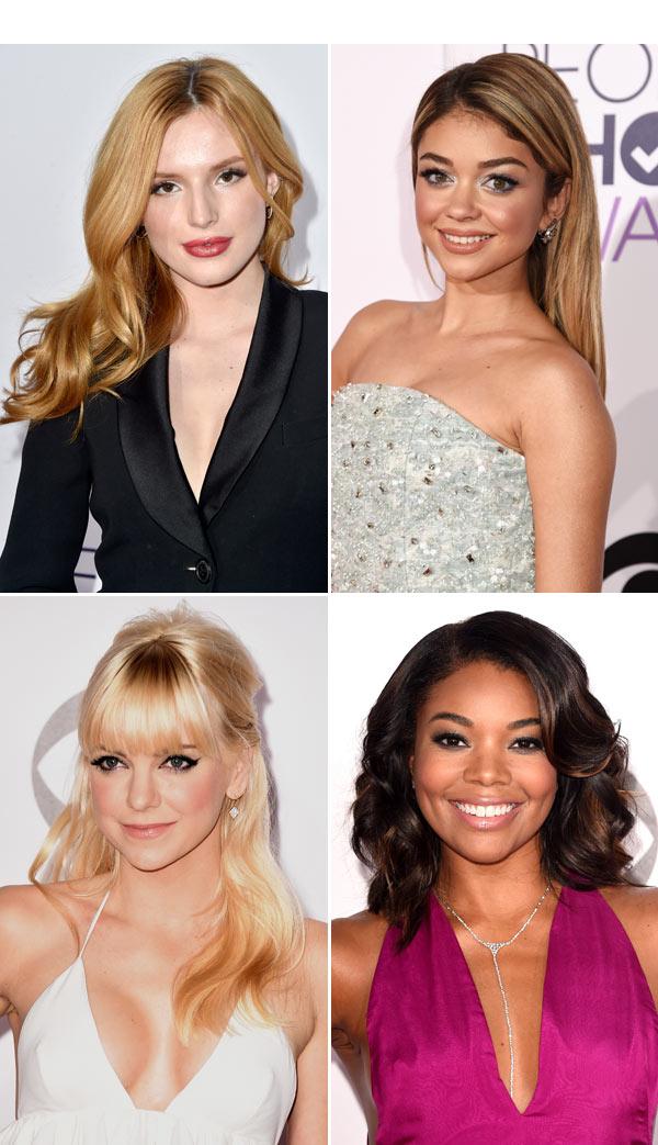 Peoples Choice Awards Hair Makeup