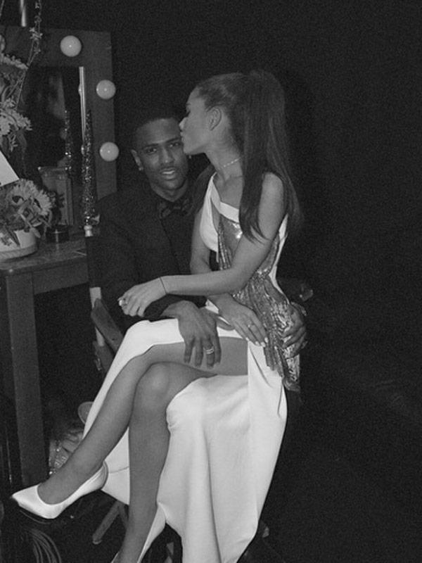 Ariana Grande Big Sean Valentine's Day Card