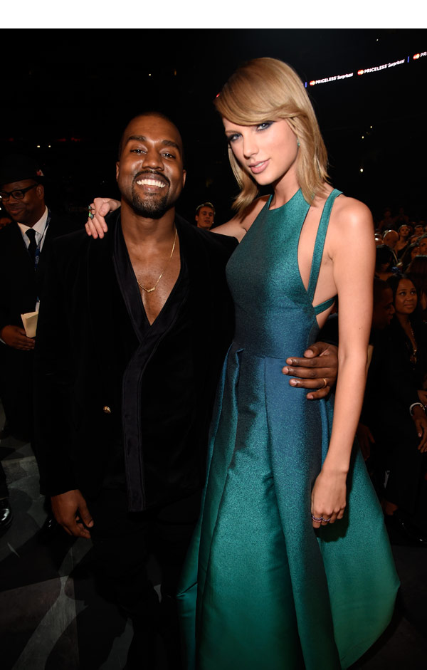 Taylor Swift Kanye West Grammy