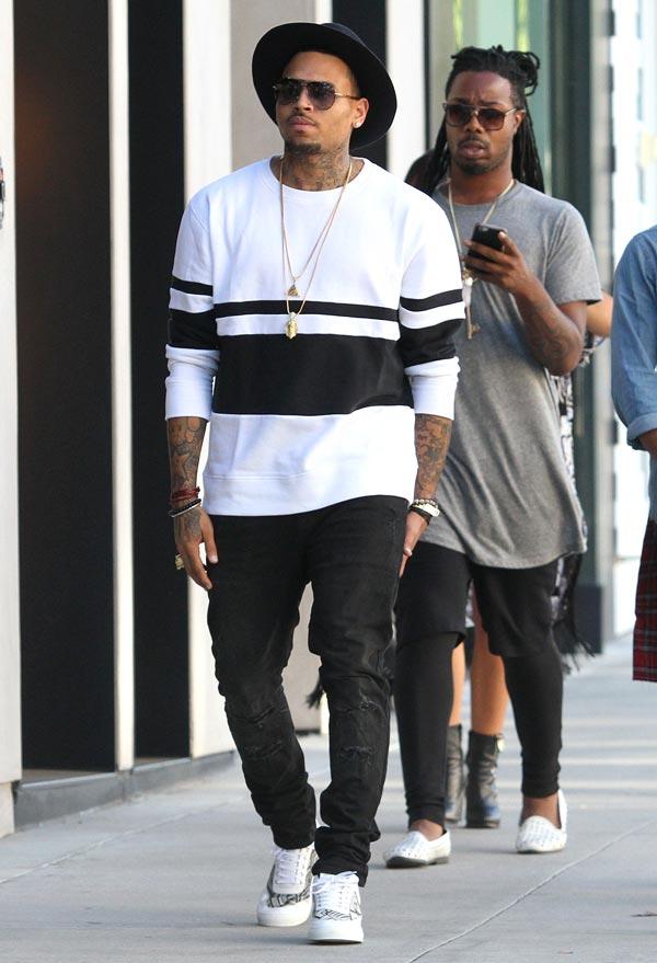 Chris Brown Baby Drama