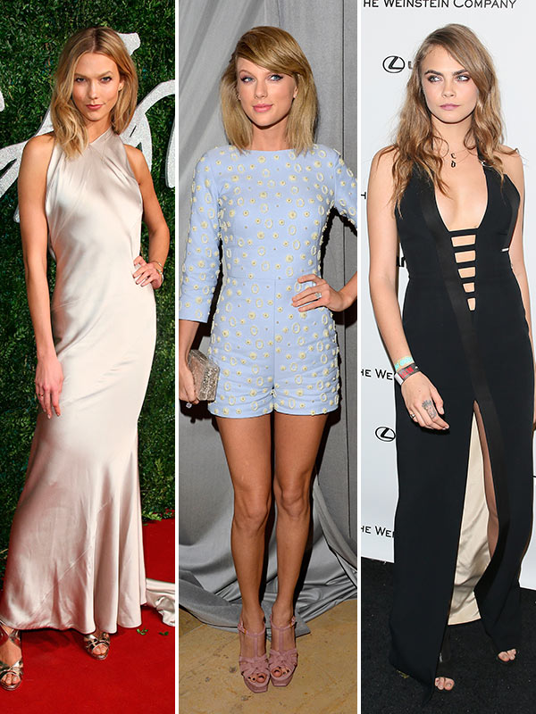 Karlie Kloss Cara Delevingne Fight About Taylor Swift Things Got Nasty Hollywood Life