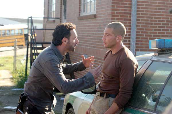 The Walking Dead Rick Shane