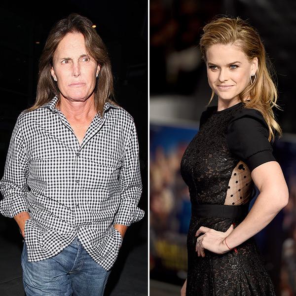Alice Eve Disses Bruce Jenner