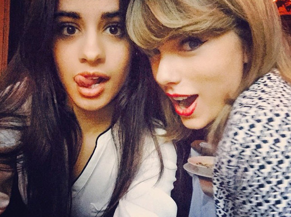 Taylor Swift Camila Cabello Writing Songs