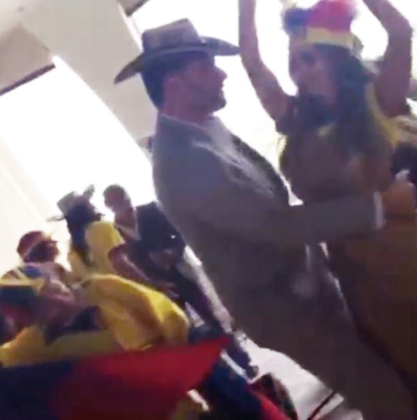 Joe Manganiello Sophia Vergara dancing