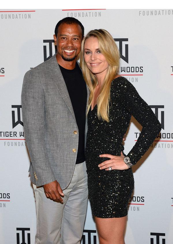 Tiger Woods Lindsey Vonn Split