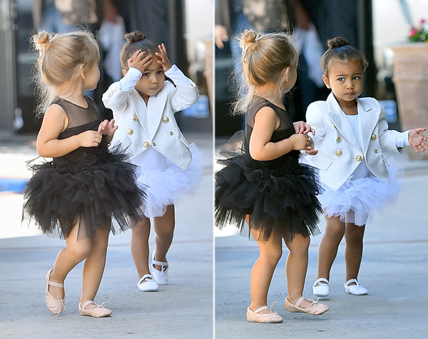 north west penelope disick fight