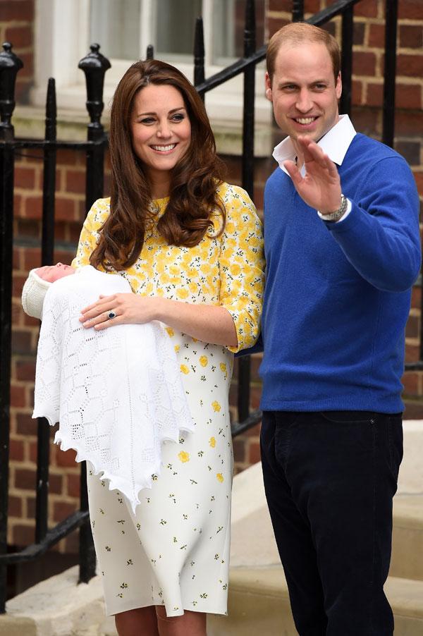 Princess Charlotte Kate Middleton Prince William