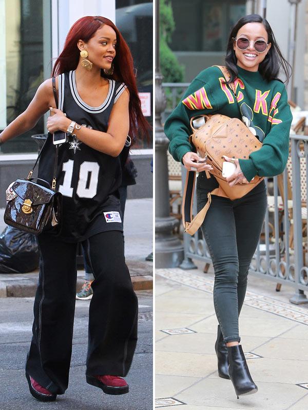 Rihanna Reacts To Karrueche Tran's 'Beautiful' Comment