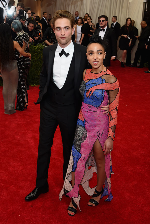 FKA twigs Robert Pattinson Met Gala