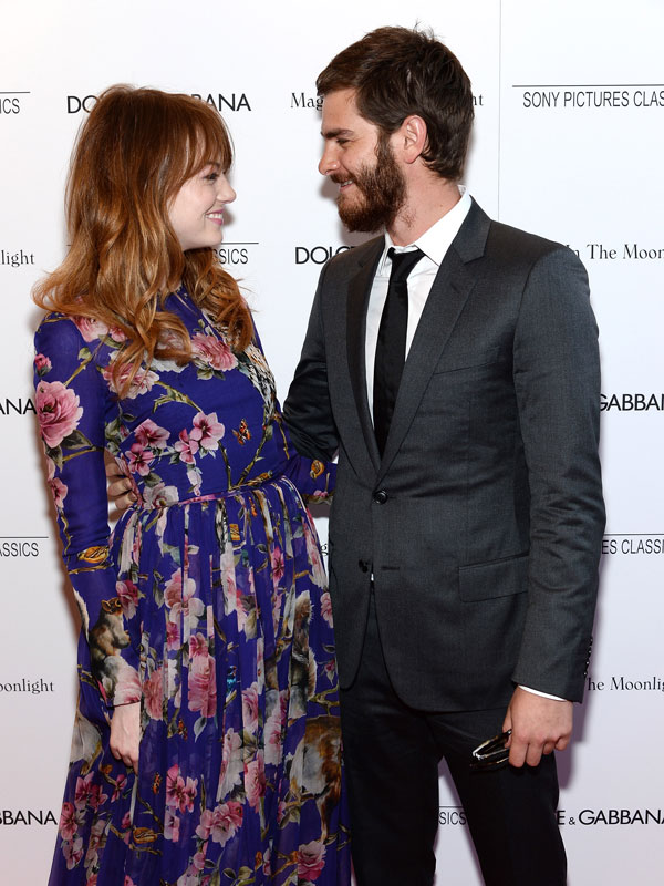 Andrew Garfield Emma Stone Engaged