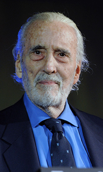 christopher lee celebrity profile