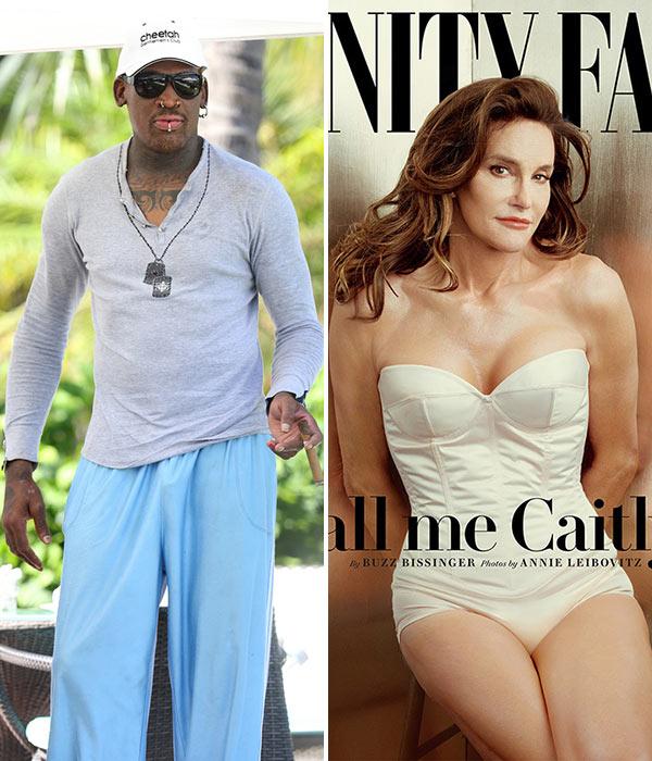 Dennis Rodman Caitlyn Jenner Date