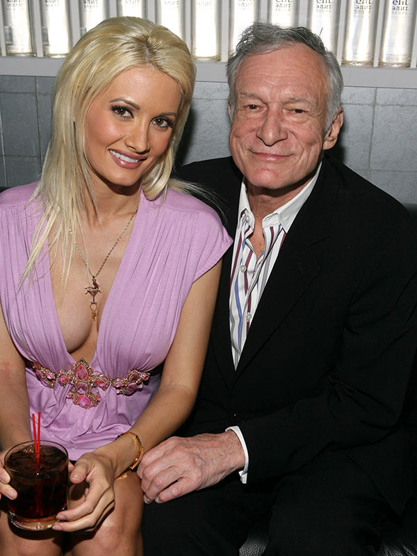 Hugh Hefner Furious Over Holly Madison S Sex Life Diss Her Tell All Is Bogus Hollywood Life