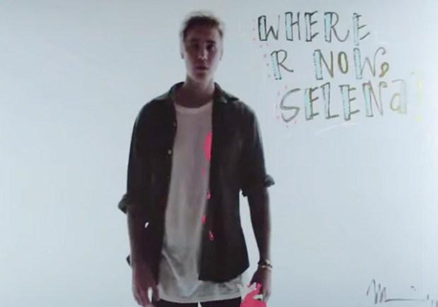 Justin Bieber Selena Gomez Message Where Are U Now Video