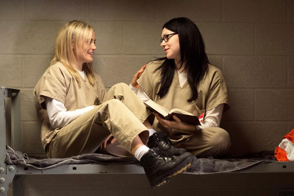 orange is the new black shoes