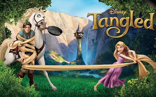 tangled tv show