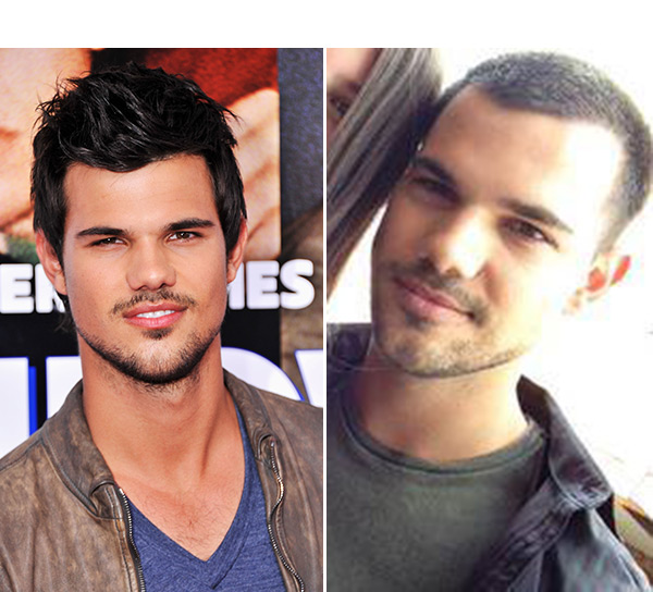 Taylor Lautner Gets Buzz Cut
