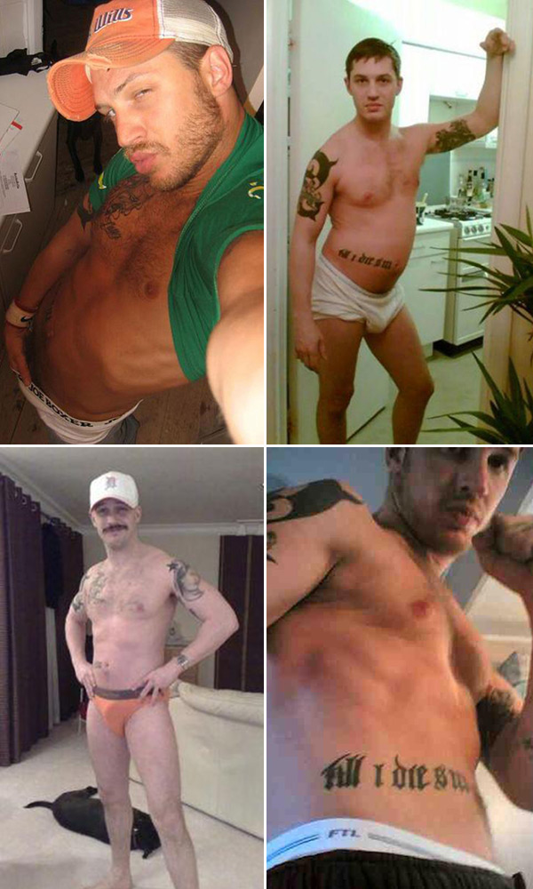 Gay tom hardy