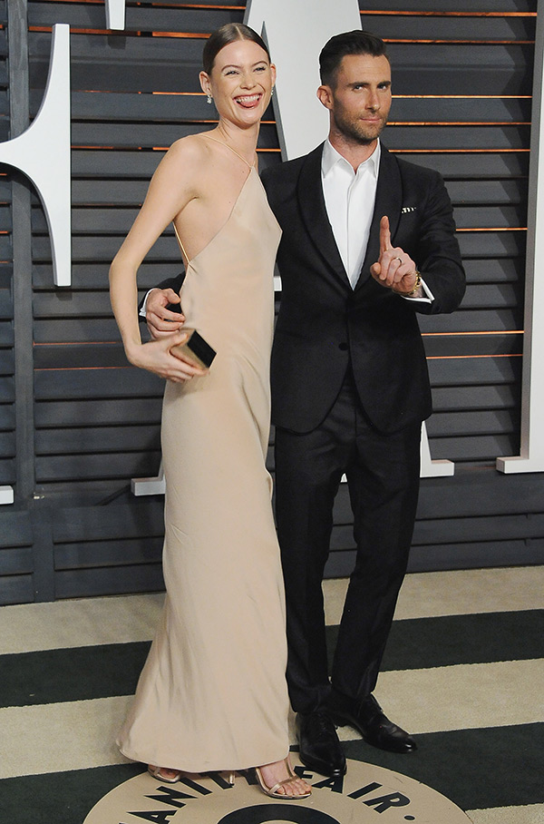 Behati Prinsloo Adam Levine Marriage
