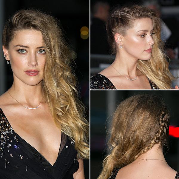 Amber Heard Makeup Miu Miu