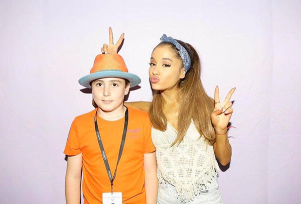 Ariana Grande Crochet Top