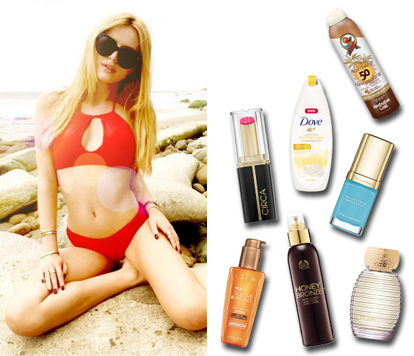 Beach Beauty Products
