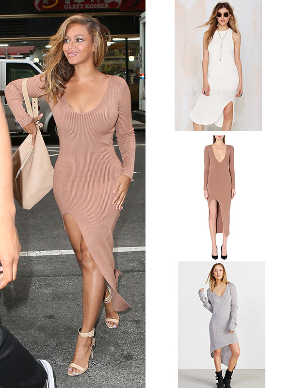 Beyonce Nude Dress