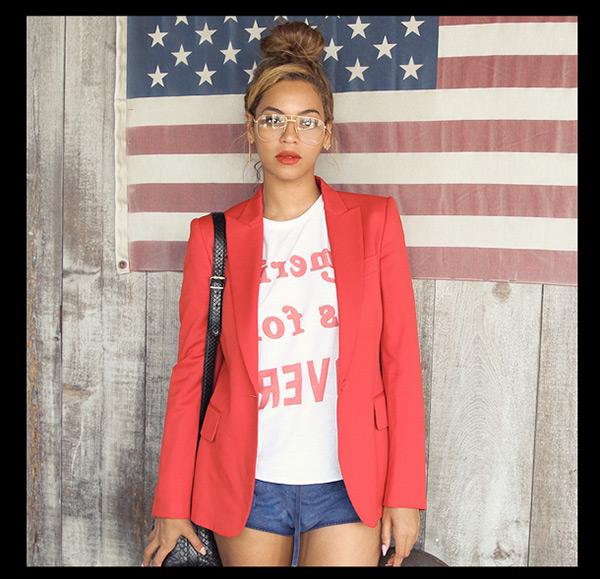 Beyonce High Bun