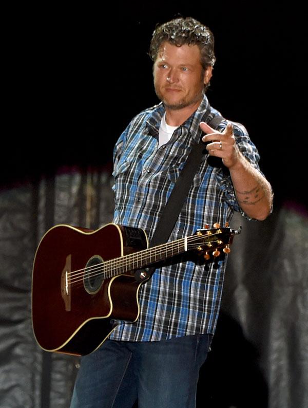 Blake Shelton First Concert Divorce