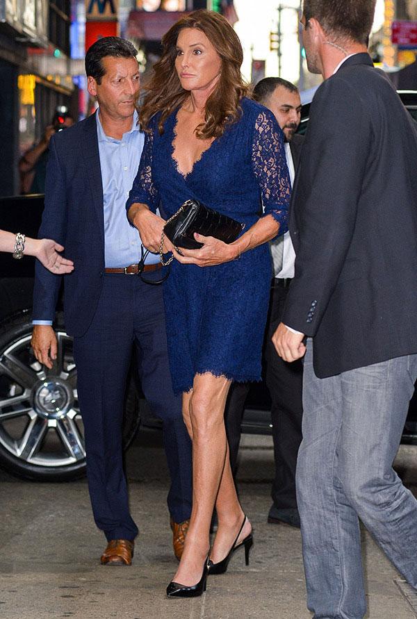 Caitlyn Jenner Gives Shoes Transgender Woman