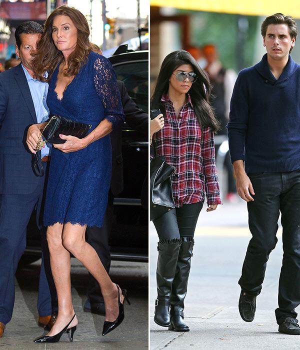 Caitlyn Jenner Supports Kourtney Kardashian