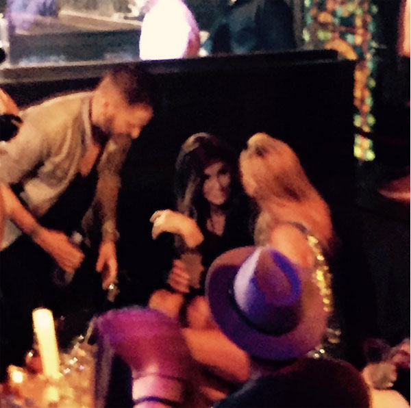 Caitlyn Jenner Partying Gay Bar