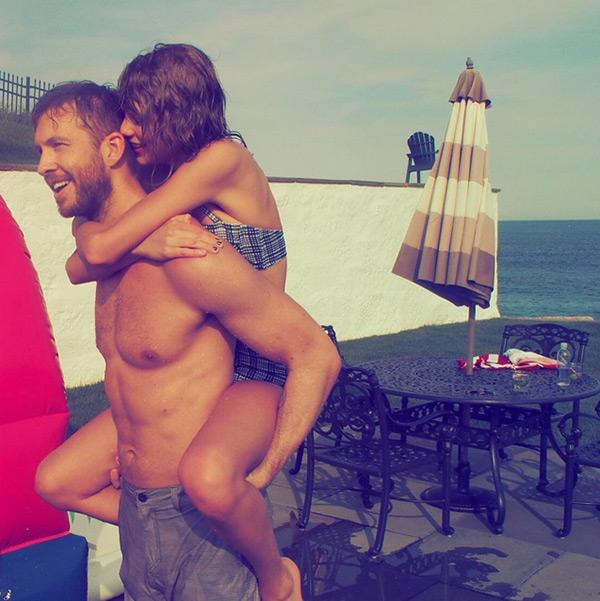 Calvin Harris Taylor Swift Happy