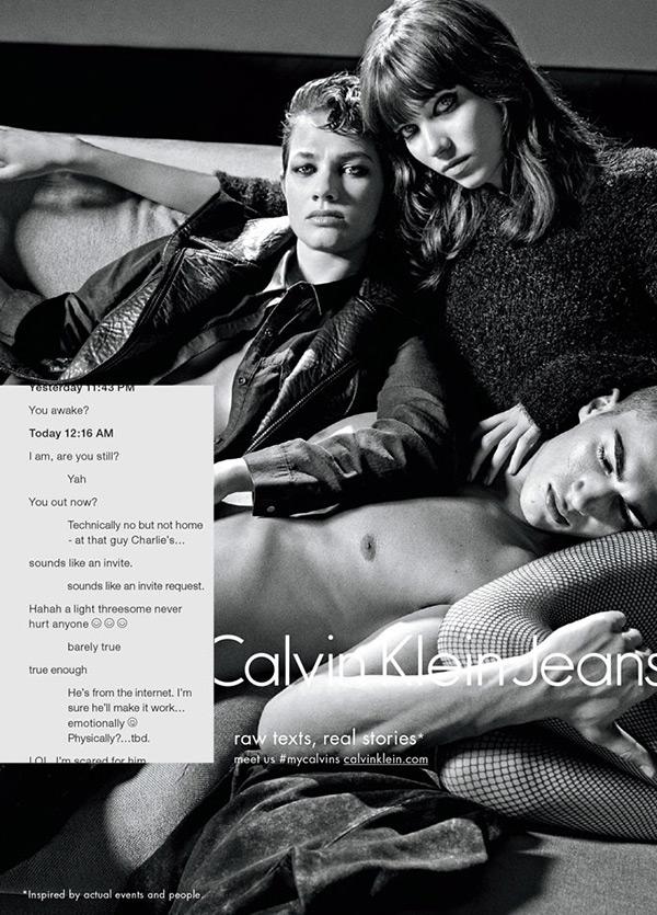 Calvin Klein Threesome Ad