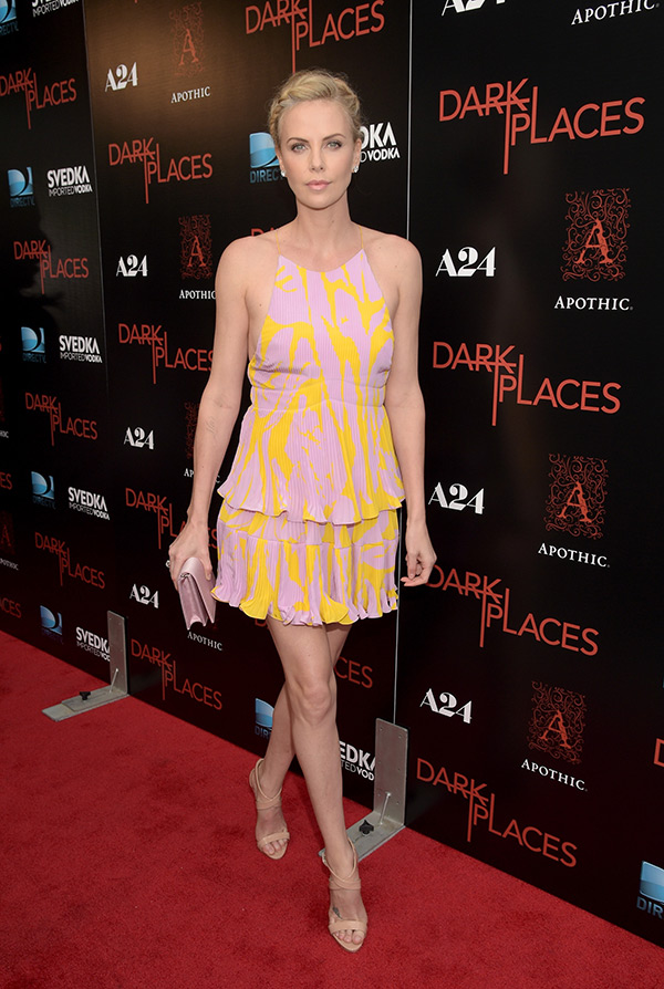 Charlize Theron Dark Places Dress