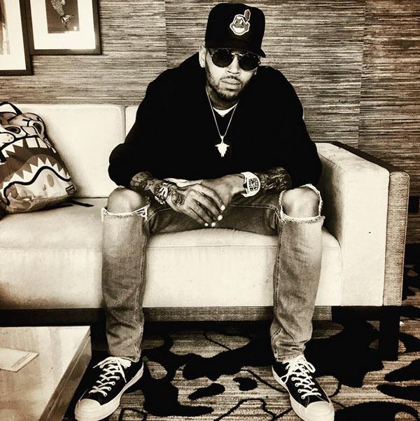 Chris Brown Break-In