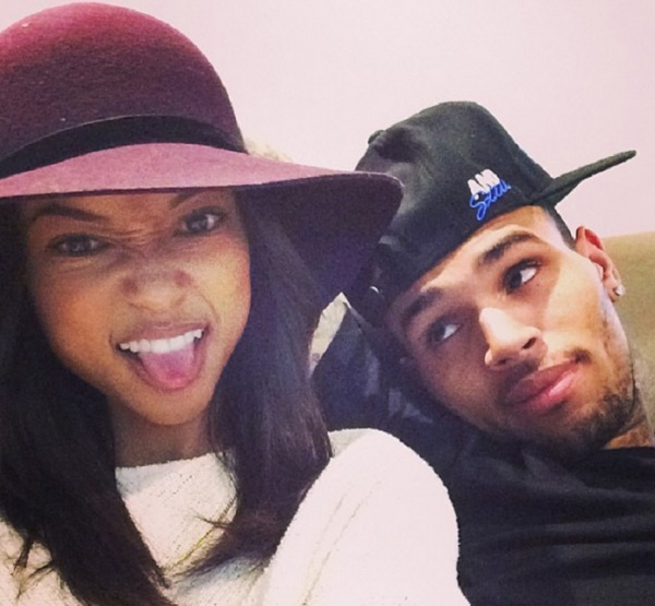 Karrueche Tran Chris Brown Over