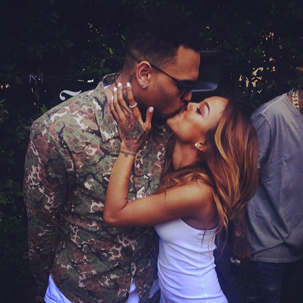 Chris Brown Karrueche Tran Date