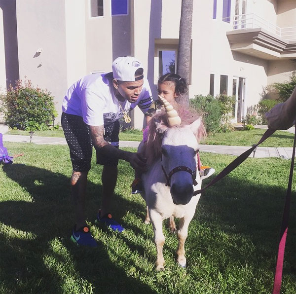 Chris Brown Not Moving Nia Guzman Royalty