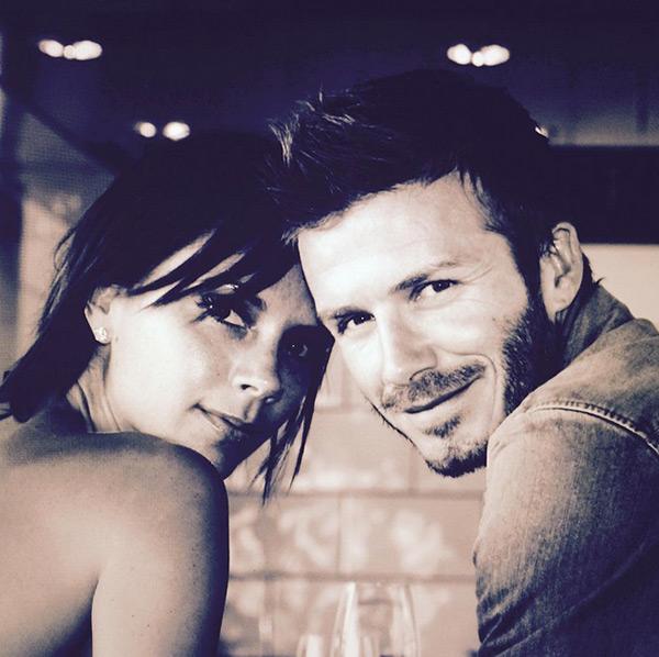 David Victoria Beckham Pics