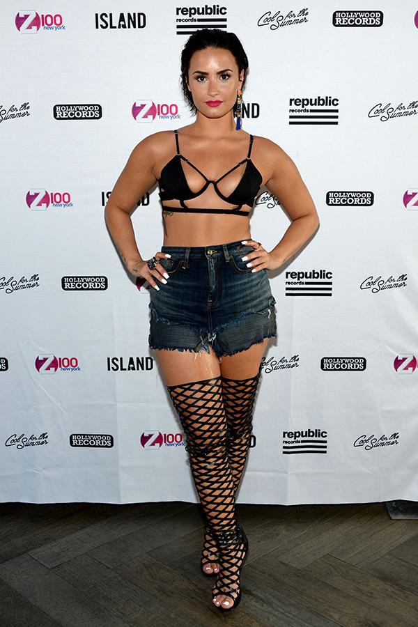 Demi Lovato Bandage Bikini