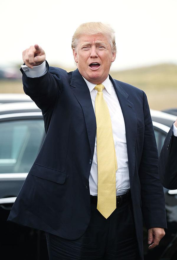 Donald Trump DWTS
