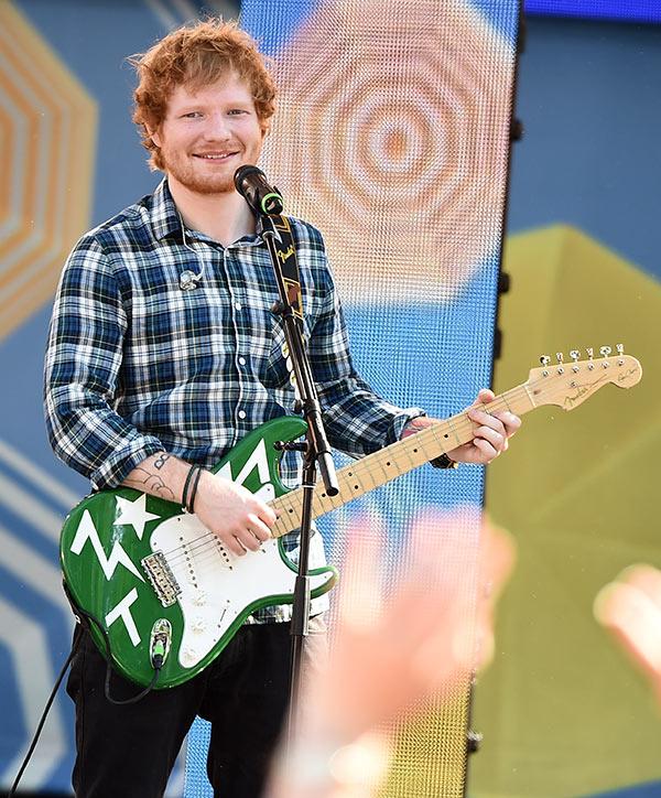 Ed Sheeran Pooped Pants On Stage
