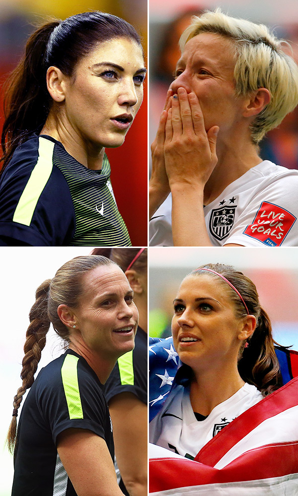 Womens Soccer Hairstyles
