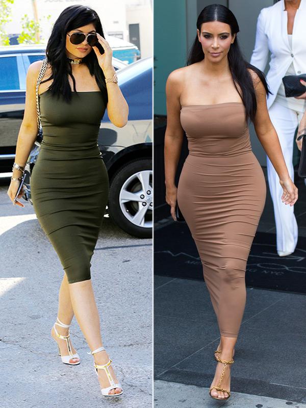 Kylie Jenner Kim Kardashian Looks