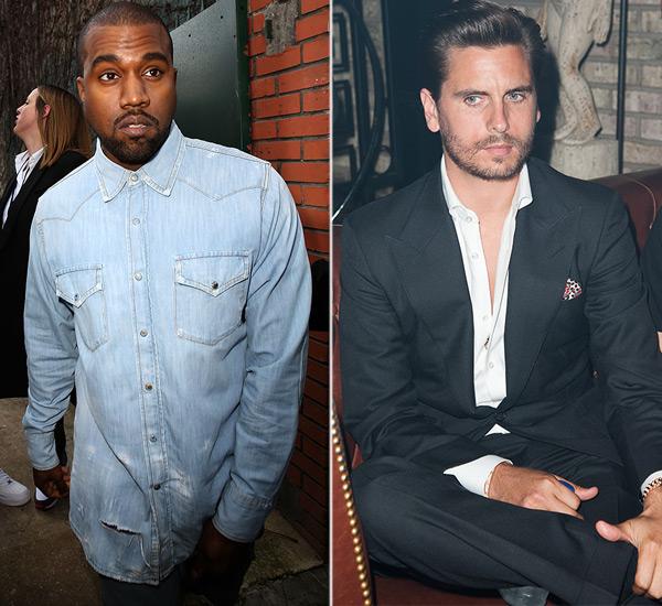 Kanye West Supports Kourtney Kardashian